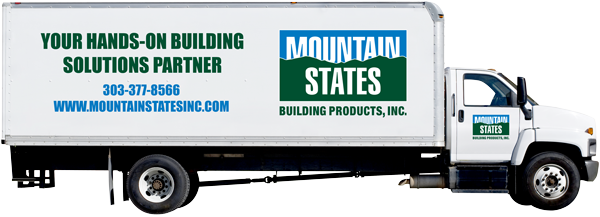 Mountain States Delivery Truck
